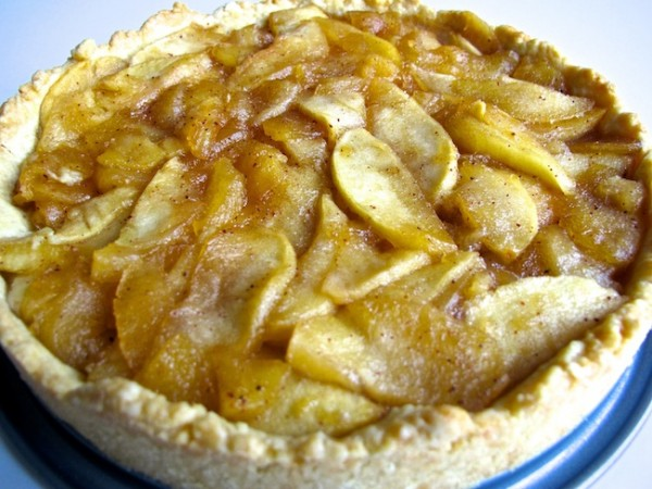 Tarte tatin Fransk-äppelpaj