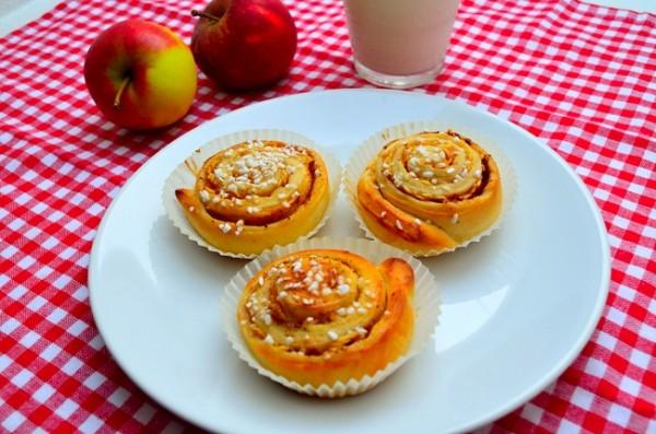Äppelbullar