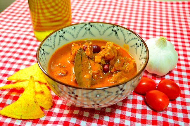 Chili con carne på högrev