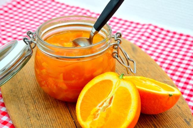 Apelsinmarmelad med citron
