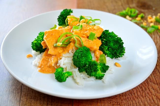 Chicken thai red curry