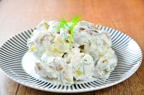Somrig potatissallad