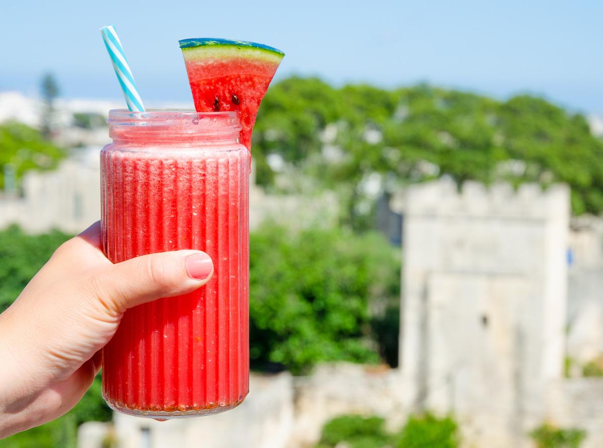 vattenmelon drink alkoholfri