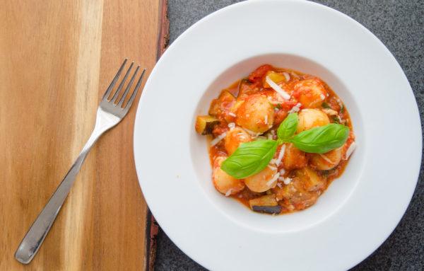 Gnocchi tomatsås med pecorino