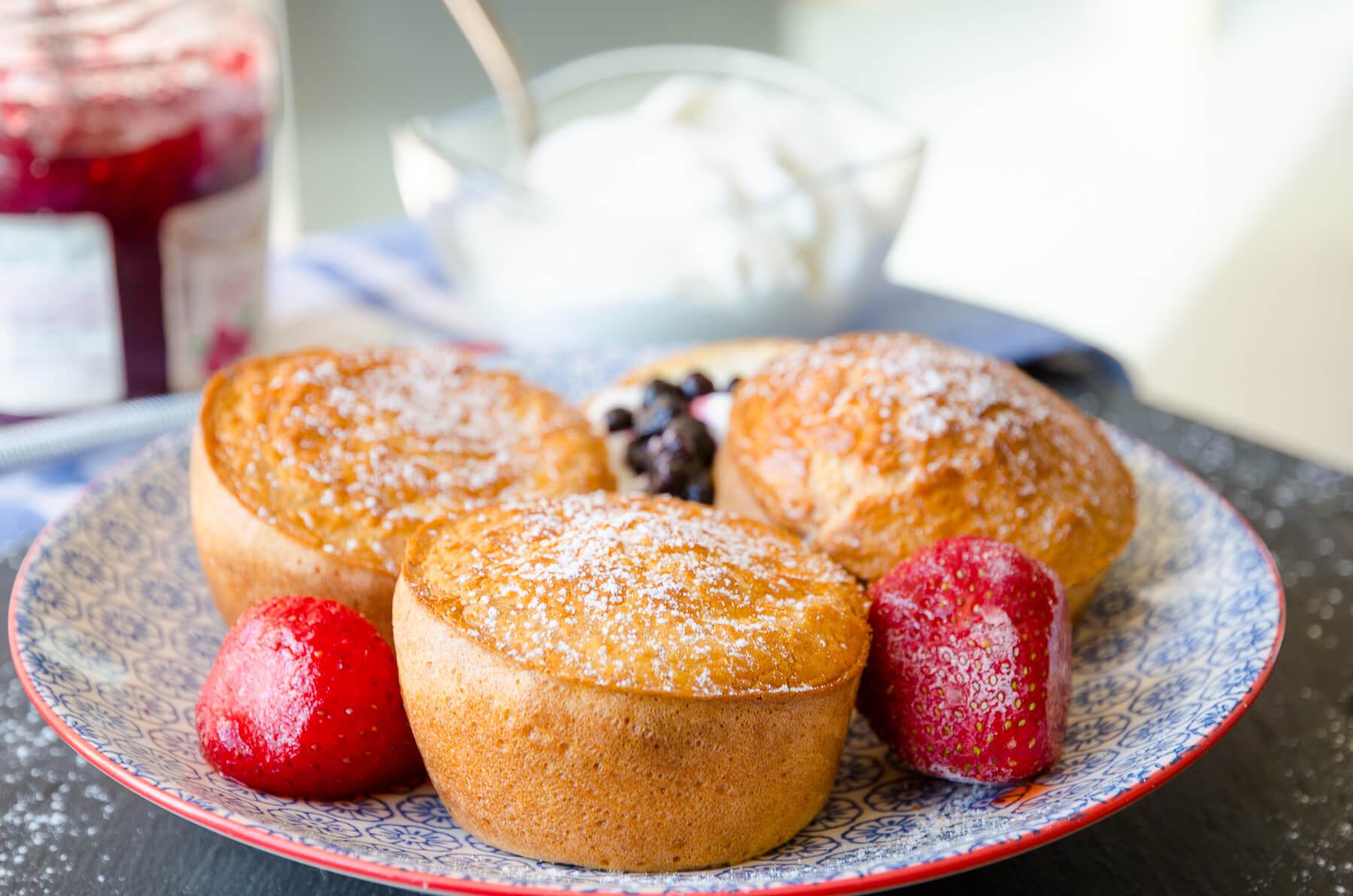 Popovers Pannkaksmuffins-recept