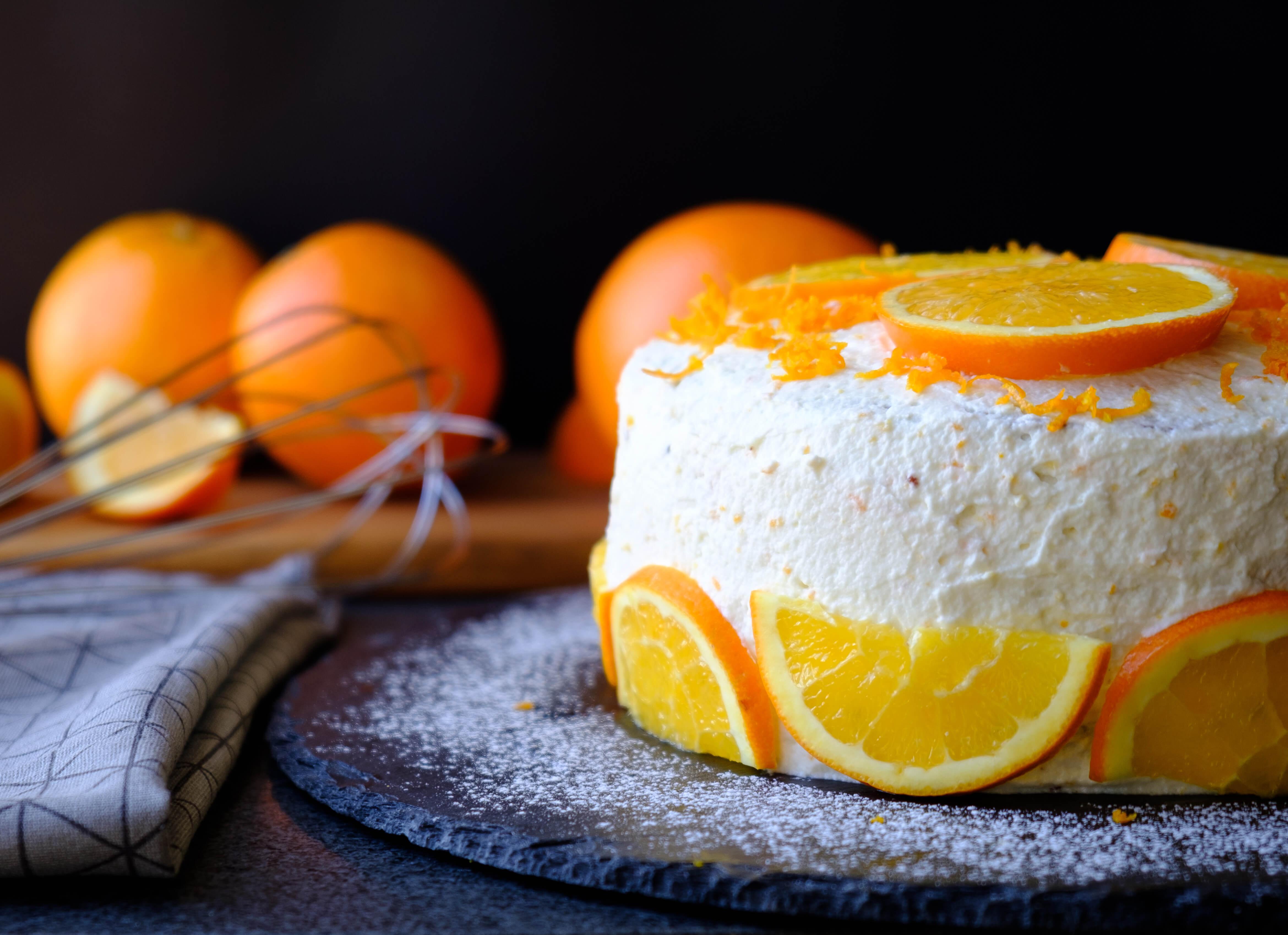 apelsin tårta recept
