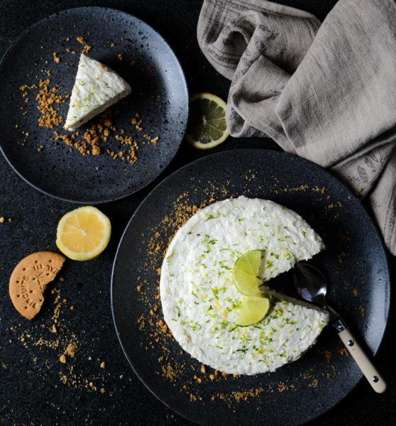 Cheesecake med citron och lime