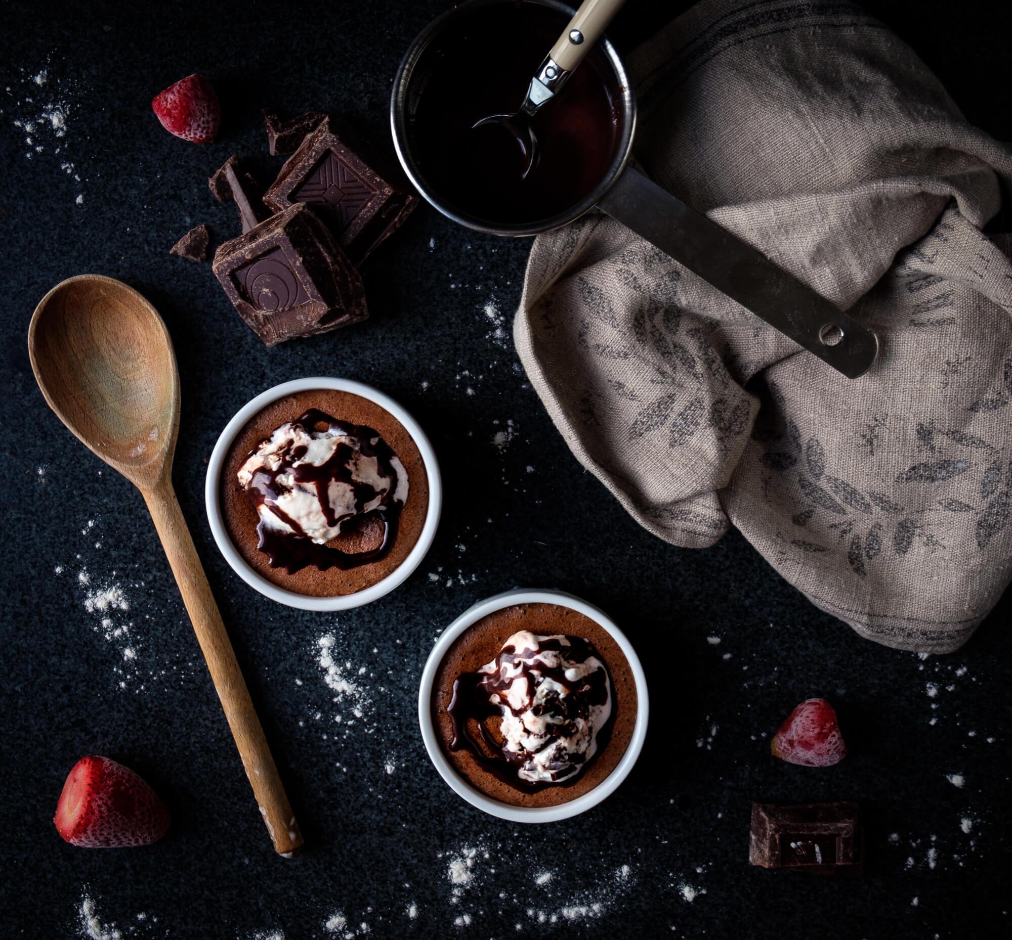 Varm Chokladmousse