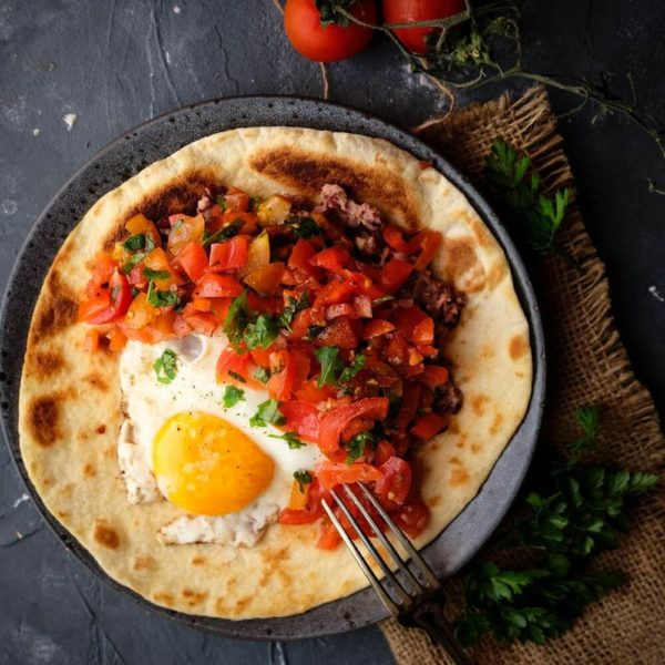 Huevos rancheros - mexikansk frukost