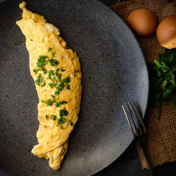 Klassisk Fransk Omelett